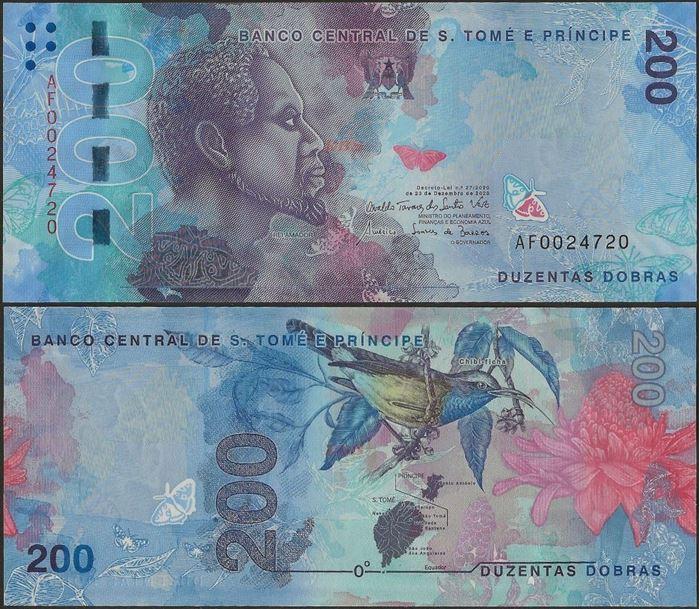 Picture of Sao Tome Principe,B316a,200 Dobras,2020